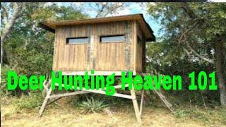 DIY Deer Hunting Box Blind