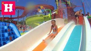 Аквапарк Aquacolors Пореч. Самый большой аквапарк в Хорватии. катаемся в горок плаваем в бассейне