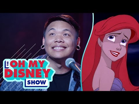 AJ Rafael Performs Part Of Your World On The Oh My Disney Show