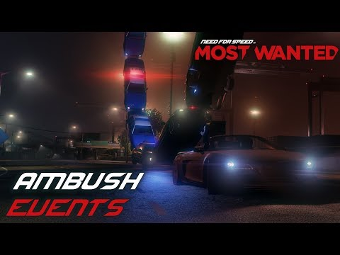 Need For Speed: Most Wanted (2012) - Ambush Events (PC)