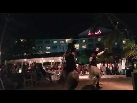 Beach Party -Sandals- Barbados 2018-10-15