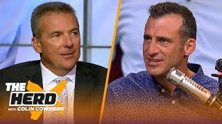 Urban Meyer & the 'Big Noon' CFB crew talk Harbaugh, Clemson, Notre Dame, Pac-12 & more | THE HERD