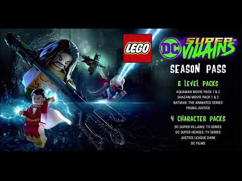 LEGO DC Super Villains Season Pass Announced! Young Justice, Aquaman, Shazam and More!