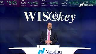 WISeKey rings the Nasdaq Opening Bell
