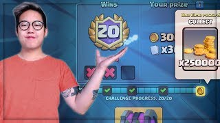 I GOT 20 WINS FIRST TRY! | Best Deck - Miner Control | Clash Royale