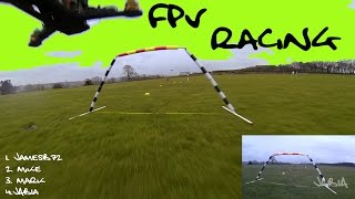 preview picture of video 'FPV Racing Mini Quadcopters Spanky 6 Oneshot KISS'