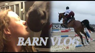 BARN VLOG   Big Jumps & Dream Barn