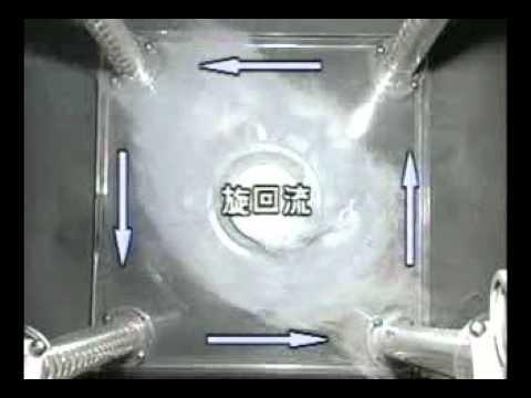 トルネックスの人工竜巻形成技術