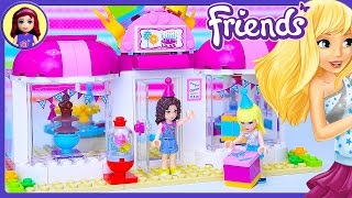 Lego Friends Heartlake Party Shop Build Review Silly Play - Kids Toys
