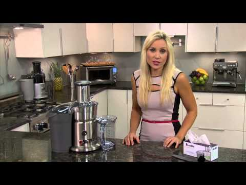 Video Breville® Juicer: Tips and Tricks Juice Fountain® Elite 800JEXL