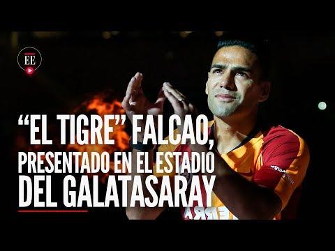 Falcao en Galatasaray: asi fue su presentacion oficial ante la hinchada- Noticias-El Espectador