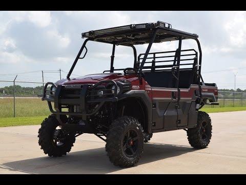 2015 Kawasaki Mule PRO-FXT™ EPS LE in La Marque, Texas - Video 1