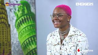 Amaarae Gives Us A Peek Into Her Past On 21 Questions||Emergers 2019