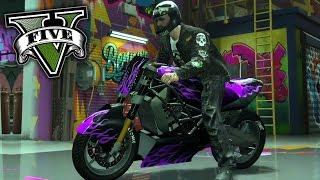 GTA V - MOTO SUPER CUSTOMIZADA DIABOLOS DLC IMPORTAÇÕES