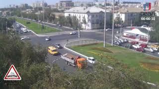 Авария Боевая  -  Николая Островского Audi a6 vs JDM