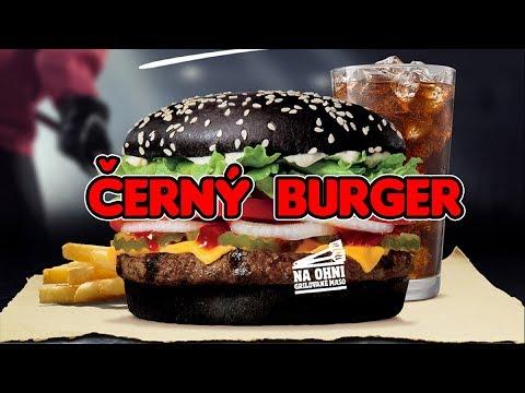 ČERNÝ BURGER a Hokejové menu od Burger Kingu!