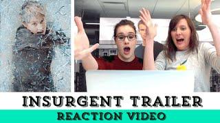 Insurgent Trailer! | Epic Reads Reaction