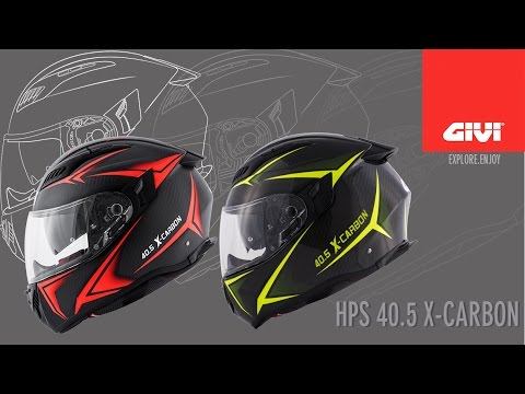 HPS 40.5 is the new top helmet of GIVI range