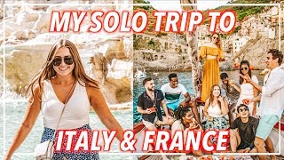MY TRIP TO ITALY & FRANCE! Cinque Terre, Nice, & Rome Vlog | Morgan Yates