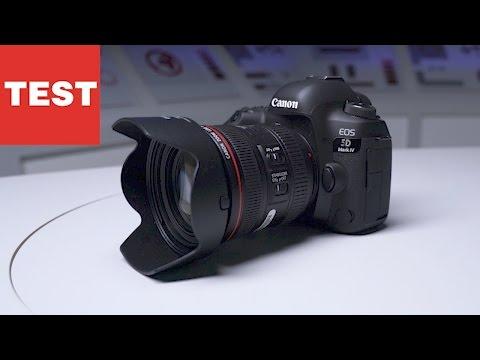 Canon 5D Mark IV: Profi-Kamera im Test
