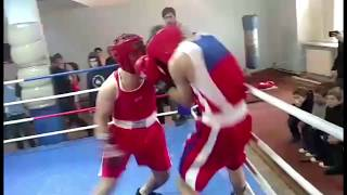 Новичок закончил бой за 20 секунд/The newcomer finished the fight in 20 seconds/Boxing