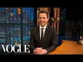 73 Questions with Seth Meyers | Vogue