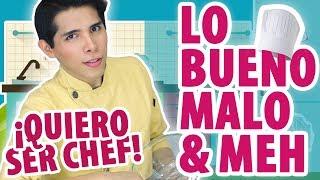 ESTUDIAR GASTRONOMÍA | LO BUENO, MALO & MEH | ALEX VELA
