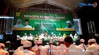 Ribuan Jamaah Ikuti Sragen Bersholawat Bersama Habib Syech bin Abdul Qadir Assegaf