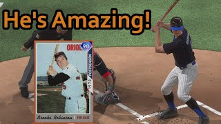 90 Brooks Robinson Is A Beast! | MLB The Show 20 Ranked Seasons