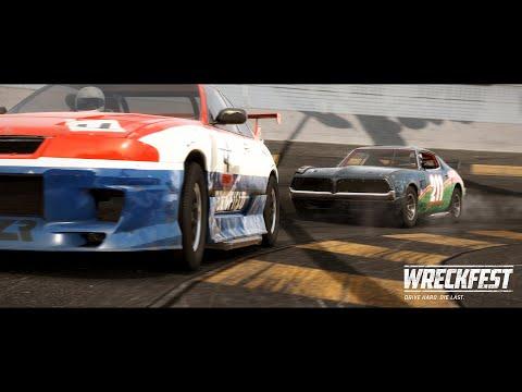 Trailer de présentation PS5 de Wreckfest
