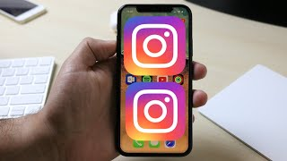 HOW TO Install 2 INSTAGRAMS On One iPhone (No Jailbreak!) iOS 11 & iOS 12