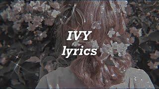 Taylor Swift - Ivy (Lyrics)