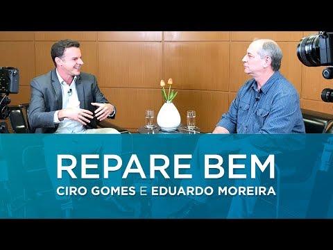#RepareBem Ciro Gomes e Eduardo Moreira conversam sobre o Brasil