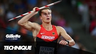 How to Throw the Perfect Javelin with Olympic Champion Thomas Röhler | Gillette World Sport