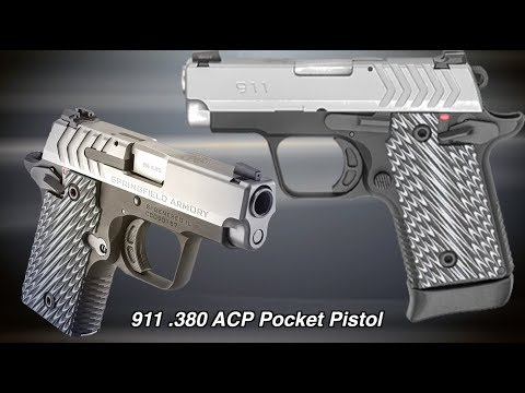 Springfield's New 911 Compact Pistol Feels Like A Full-Size 1911
