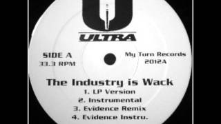 Ultra (Tim Dog & Kool Keith) - The Industry Is Wack (Evidence Remix)
