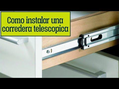 EmpoTIP #1 | Como colocar o instalar correderas telescopicas FACIL
