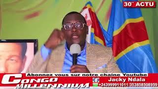 30′ ACTU AVEC JACKY NDALA: ELECTION 2018 ORGANISER PAR NANGA ET KABILA TO KENDE TO TOKENDE TE ?