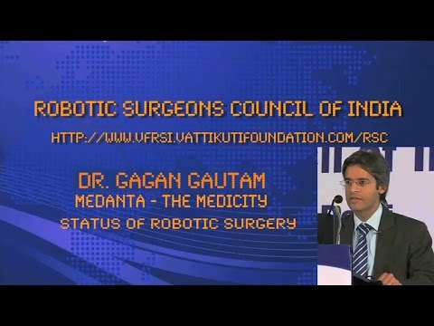 Status of Robotic Surgery - Medanta The Medicity