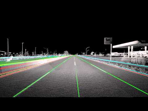 A8 Highway Point Cloud