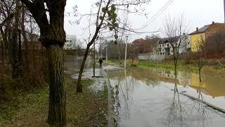 Набережна Верке після опадів
