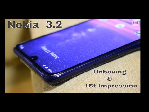 Nokia 3.2: Unboxing and 1st Impression