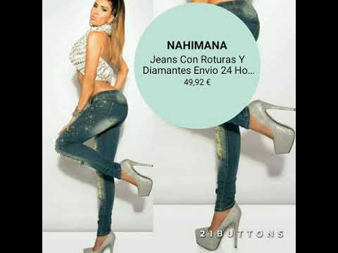 Vaqueros salsa Push Up en Nahimana