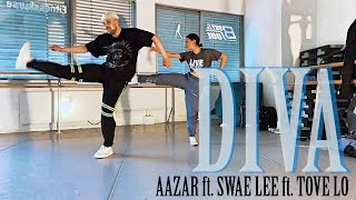 DIVA   Aazar Ft. Swae Lee, Tove Lo⎮#JanKrChoreography