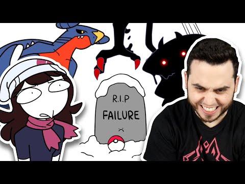 """Poketuber Reacts to """"I Attempted a Pokemon Platinum Nuzlocke"""""""
