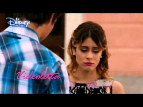 Violetta 2 English - Leon asks Violetta if she is in love with Diego Ep.74
