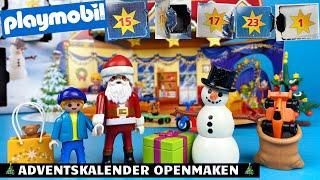 Playmobil Adventskalender Uitpakken Voor Kerst   Family Toys Collector