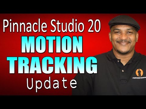 Pinnacle Studio 20 Ultimate | Motion Tracking Tutorial ***UPDATE***