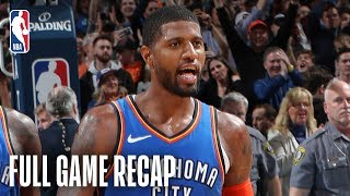 JAZZ vs THUNDER | Russell Westbrook & Paul George Combine For 88 | February 22, 2019