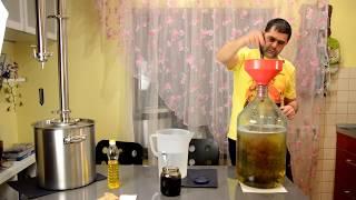 Народные традиции. Делаем вкусный сахарный самогон ч.1 Правильная брага.
